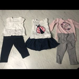 Baby girl sz 9 months Spring/Summer clothes!
